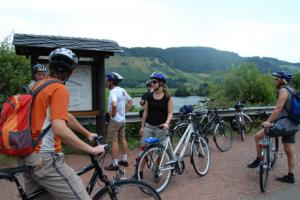 Radfahren auf dem Moselradweg